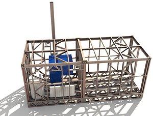 room boiler 3D model