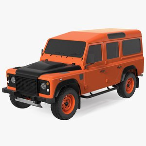 3D Off Road Car Exterior Only model