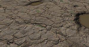 Wet Rock Texture