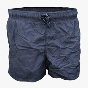 swimming trunks clothes 3D