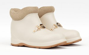 boot horsebit ankle model
