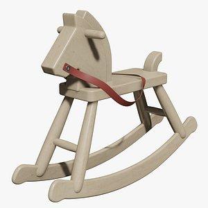 Vintage Rocking Horse model