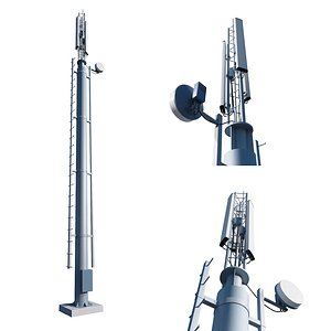 cell tower 3D model