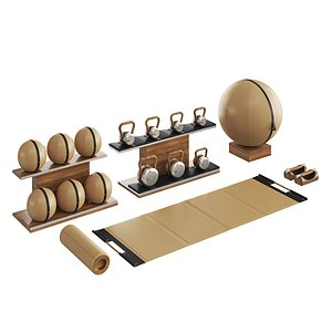 PENT luxury fitness equipment part 4 3D model
