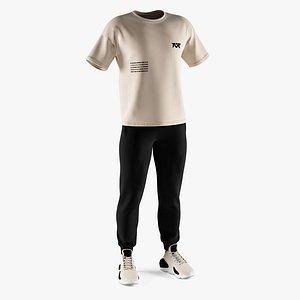3D sneakers footwear apparel