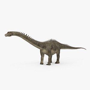 3D Diplodocus HD
