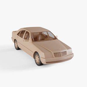 3D model 1999 Mercedes-Benz S-class