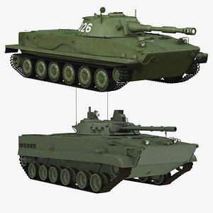 3D bmp-3 pt-76