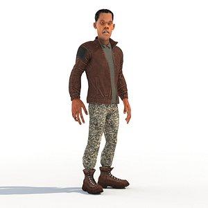 3D male homie black
