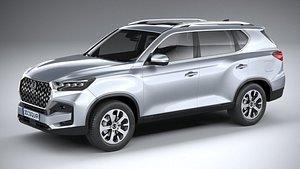 SsangYong Rexton 2021 3D model
