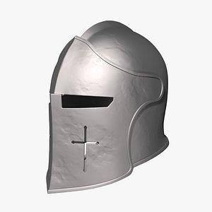 warden helmet honor printed 3D model