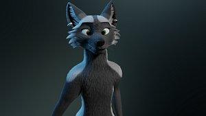 3D Chloe Fox model