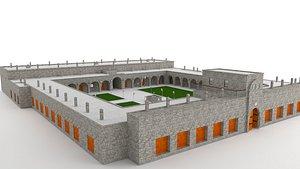 kervansaray caravanserai serai 3D model