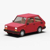Stylized Micro Car 80s