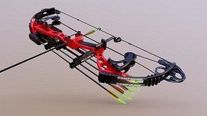 3D model compound bow