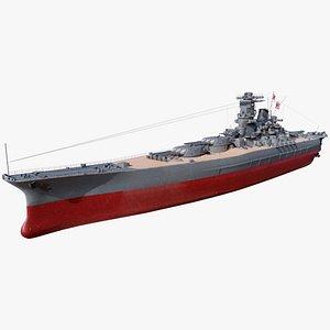 Japanese Battleship Yamato model