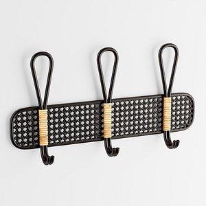 Leon Wall Multi-Hook 3D model