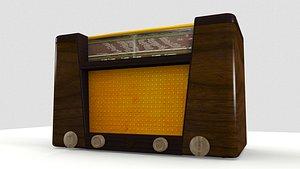 AntiqueRadio 3D model
