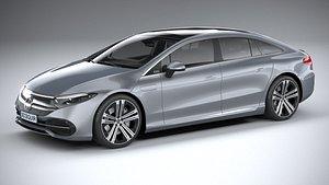 Mercedes-Benz EQS 2021 3D model