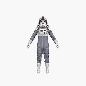Space Pilot 3D model