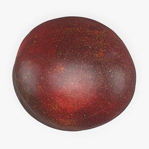 Whole Passionfruit 3D model