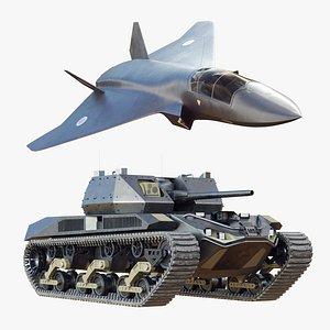 future jet 3D model