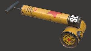 Vintage Insecticide Sprayer 3D model