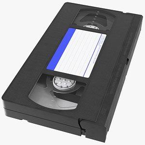 Vintage E180 VHS Video Tape 3D model