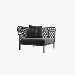 outdoor furniture 6 3D