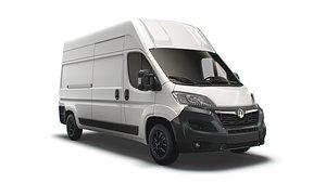 Vauxhall Movano Van L3H3 2022 3D model