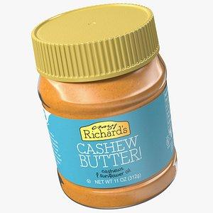 Crazy Richards Natural Cashew Butter 3D