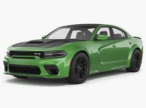 Dodge Charger Hellcat Widebody 2021 3D model
