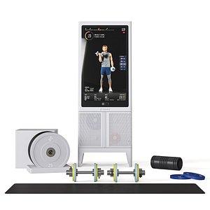 home gym Tempo Studio Pro 3D model