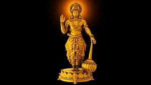 god hanuman 3D model