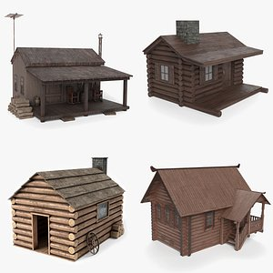 Cabin Collection 3D model