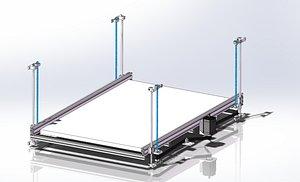 3D Large lifting mechanism
