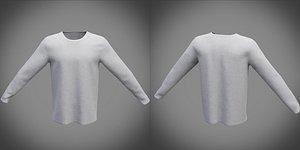 shirt sweatshirt sweat 3D model