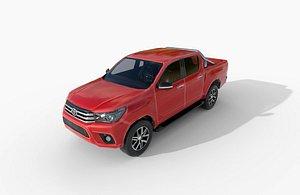 3D toyota double cab 2015