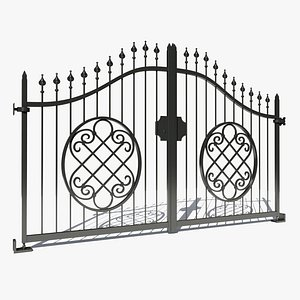 3D wrought iron model