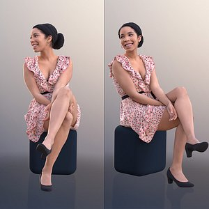 woman dress 3D