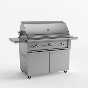 3D grill freestanding