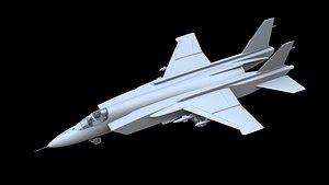 Yakovlev Yak-141 3D model