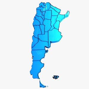 argentina  Buenos Aires 3D