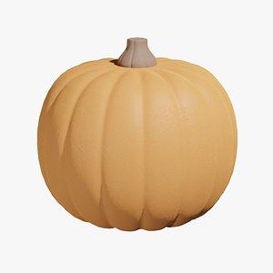 Cartoon Pumpkin 3D model