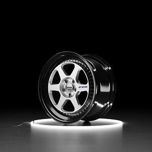 3D WORK MEISTER L1 Car wheel model