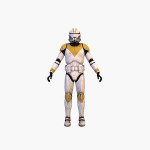 3D model Clone Trooper