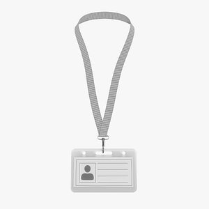 3D Name Badge 5 model