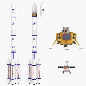 chang e-3 e 3D model