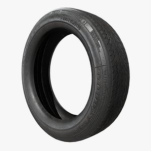 Tire v1 with Pbr 3D model