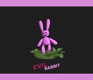 rabbit leaves model